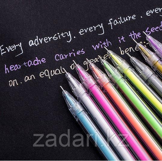 Ручка с цветным стержнем