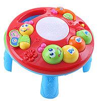 Развивающий столик 2в1 Tot Kids Гусеница (свет, музыка)