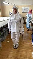 Костюм противочумный    халат+блуза+брюки+Балаклава