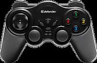 Беспроводной игровой джойстик/геймпад Defender Game Master Wireless (Black)