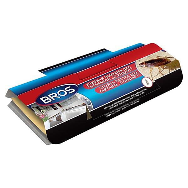 Клеевая ловушка домик для отлова тараканов с феромоном Bros Брос