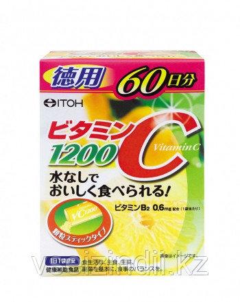 Витамин C 1200 мг + Витамин В2, ITOH, 2 гр х 60 саше (на 60 дней)