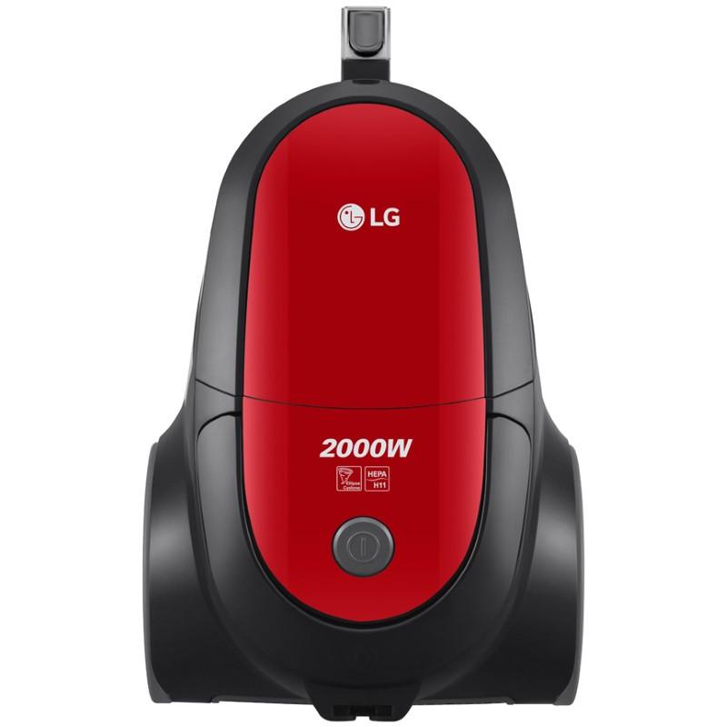 Пылесос LG VC53001MRNT (красный)