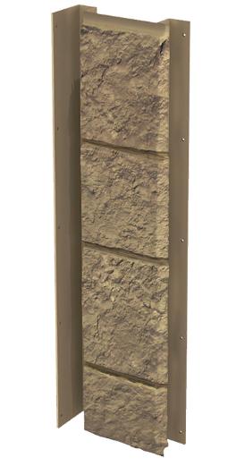 """Планка универсальная 121x420 мм VOX Solid Sandstone """"Light Brown"""" Твердый Песчаник """" Светло-Коричневый"""""""