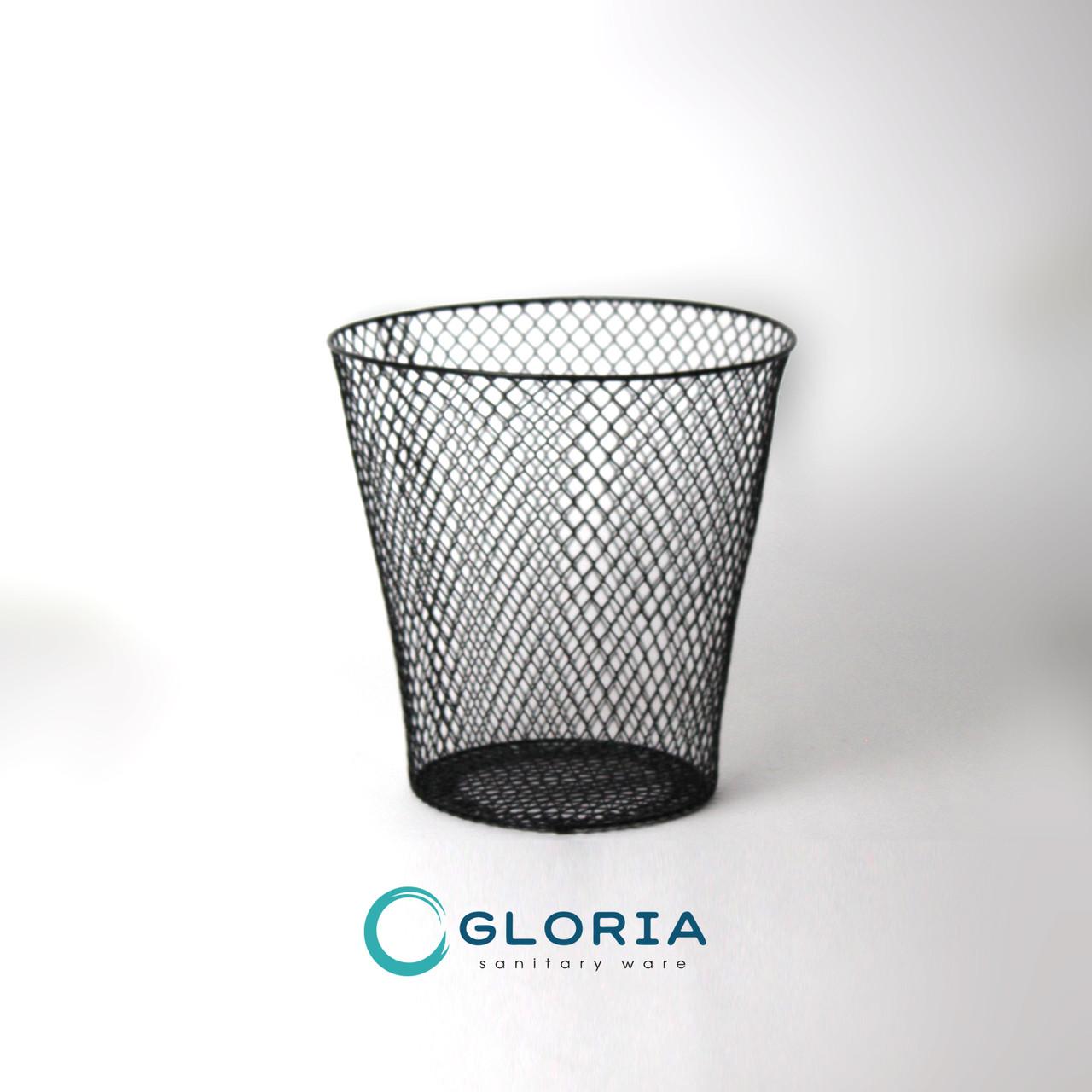 Корзина офисная GL030 (круглая, сетка)