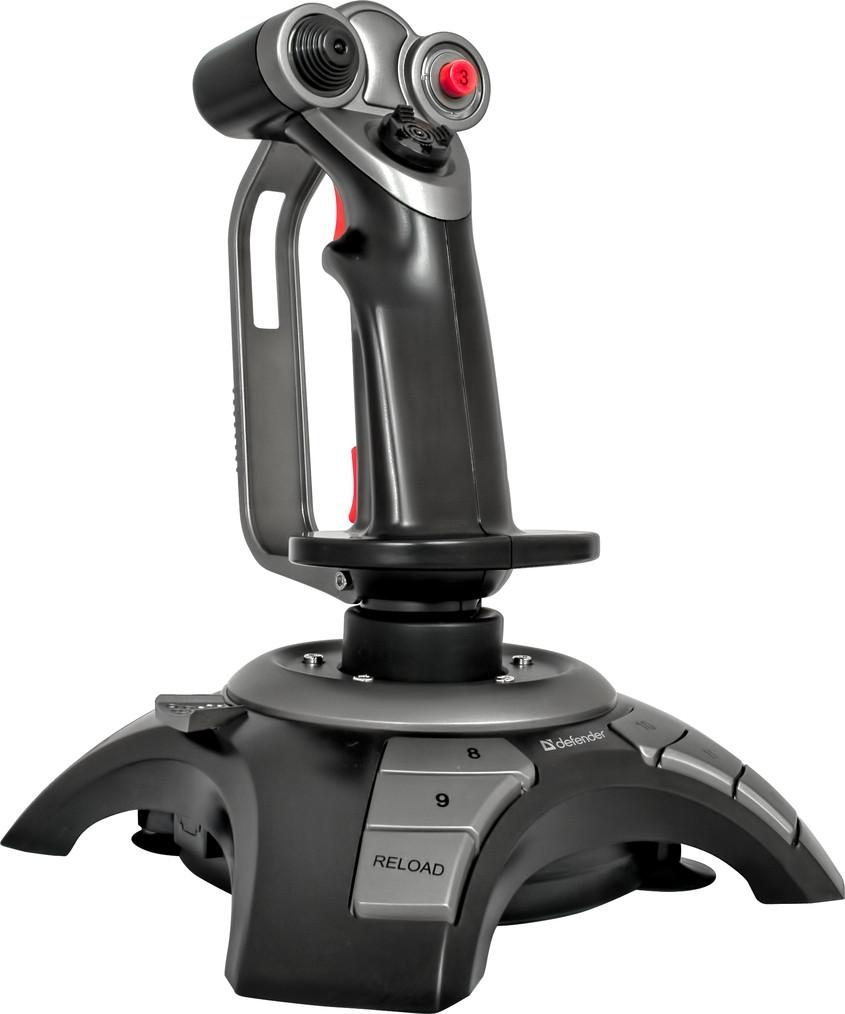 Игровой джойстик Defender Cobra R4 (Black)