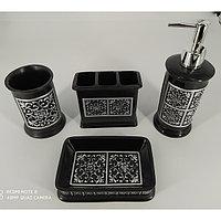 Набор для ванной из 4-х предмет, керамический LM-01,LM-12
