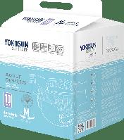 Подгузники для взрослых YokoSun M объем 75-112 см №10