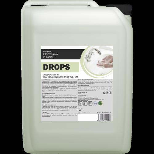 Жидкое мыло с антисептическим эффектом - DROPS 5 л