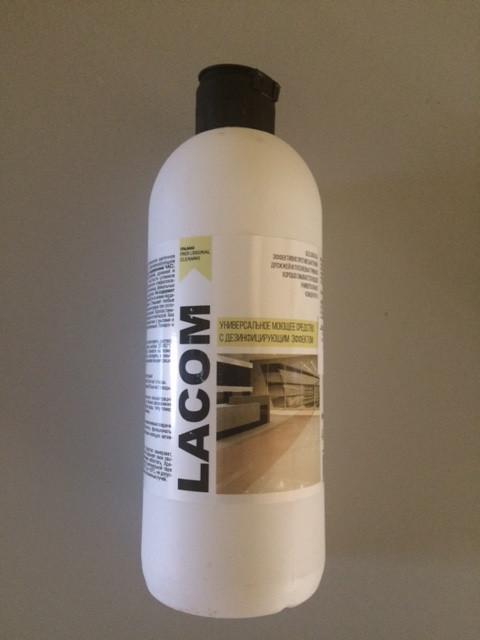 Моющее средство с дезинфицирующим эффектом, концентрат - LACOM  0,5л