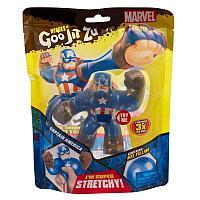 Goo Jit Zu :Тянущаяся фигурка Капитан Америка.