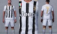 Футбольная форма Juventus 2020/21 года  Ronaldo 7
