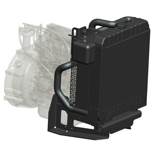 Радиатор водяной Isuzu 4JF1