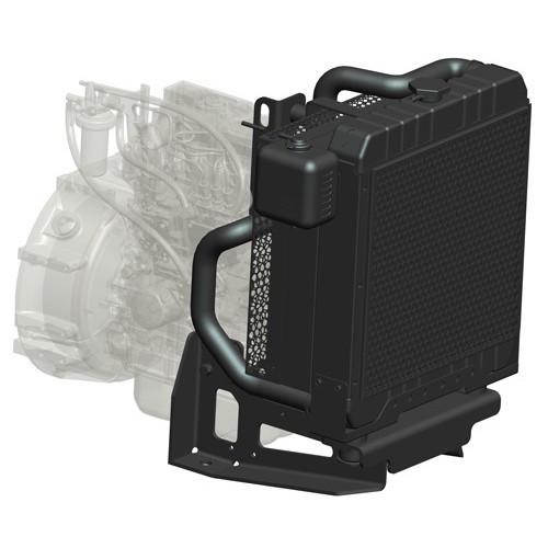 Радиатор водяной Isuzu 4JX1