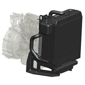 Радиатор водяной Isuzu 4XC1