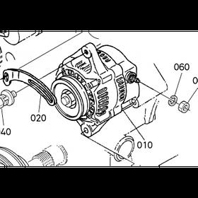 Генератор Kubota V1200