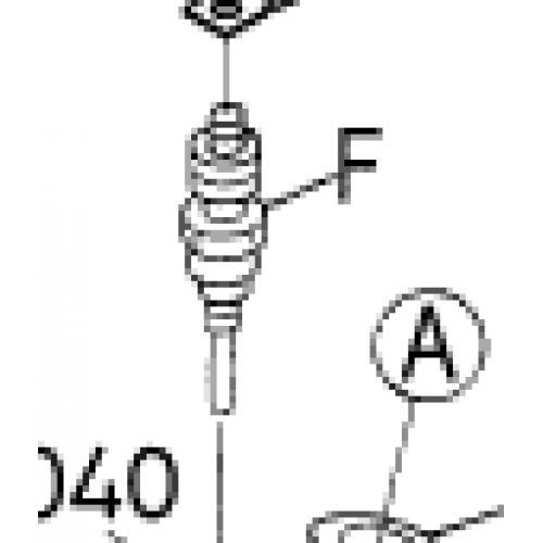 Свеча накаливания Kubota V1300