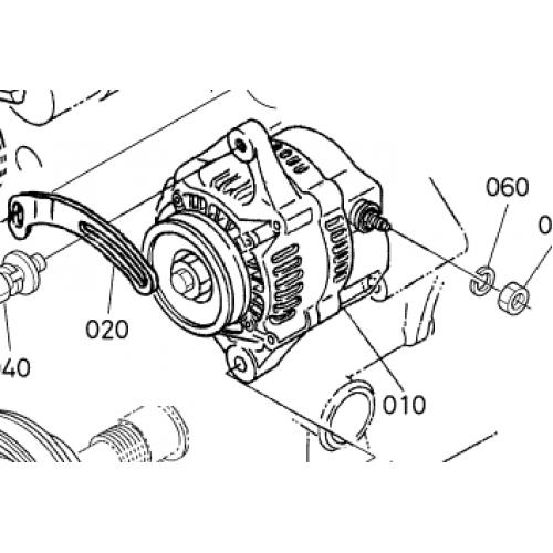 Генератор Kubota V1205