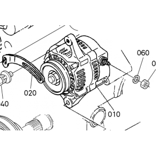 Генератор Kubota D650