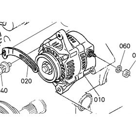 Генератор Kubota V4300
