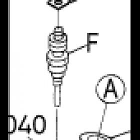 Свеча накаливания Kubota V4300