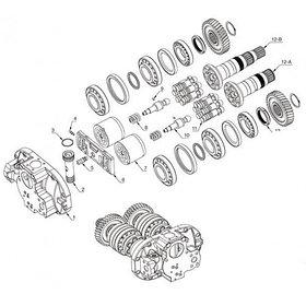 Насос гидравлический для Hitachi EX200-2, EX220-2 EX200-3, EX220-3