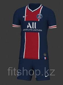 Футбольная форма ПСЖ 2020-2021  детская (комплект футболка+шорты)