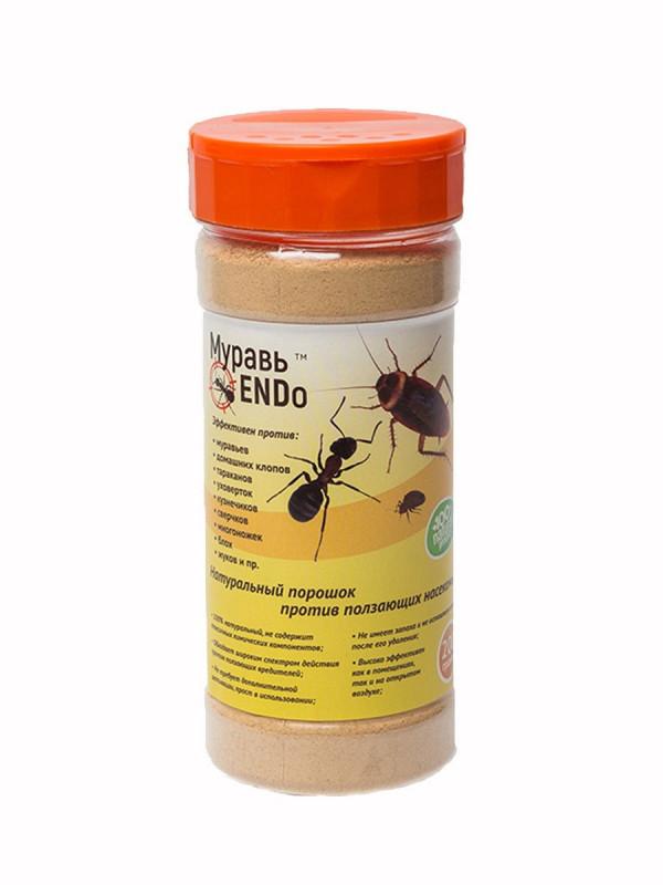 Натуральный порошок против ползающих насекомых - МуравьENDo   200 г