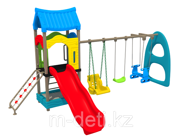 Детская игровая площадка игровой комплекс Теремок HD110 HUADONG