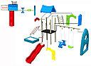 Детская игровая площадка игровой комплекс Теремок HD110 HUADONG, фото 5