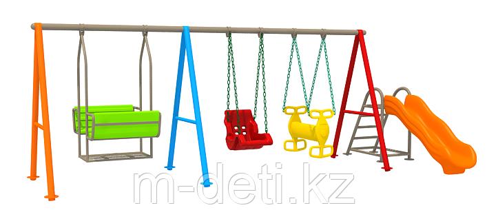 Детская площадка для малышей Нодди HD109 HUADONG