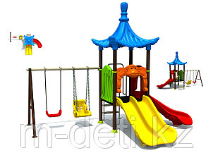 Детская площадка игровой комплекс Волна HD112 HUADONG