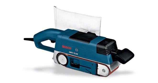 Ленточные шлифмашины GBS 75 AE Set Bosch Professional