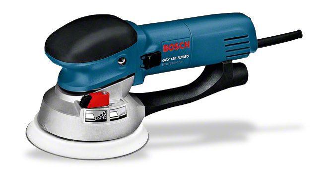 Эксцентриковая шлифмашина Bosch GEX 150 Turbo Professional