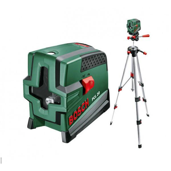 Линейный лазерный нивелир Bosch PCL 20 set