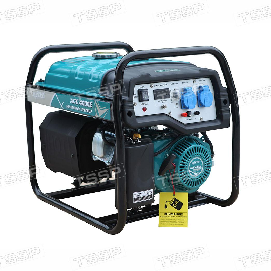 Бензиновый генератор ALTECO AGG 4000Е