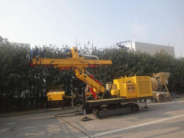 Гидравлический буровой станок на гусеничном ходу YGL-150A