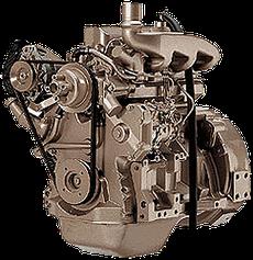 Дизельный двигатель John Deere 3029DF128