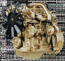 Дизельный двигатель John Deere 4045HF158