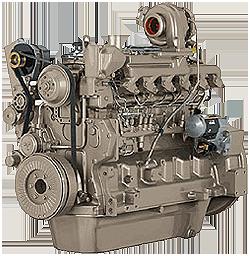 Дизельный двигатель John Deere 6068HF258