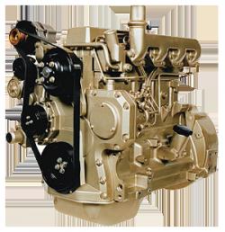 Дизельный двигатель John Deere 4045DF150