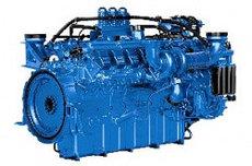 Дизельный двигатель MTU 12V2000G65