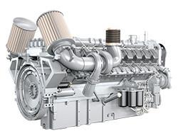 Дизельный двигатель MTU 16V2000G16F