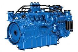 Дизельный двигатель MTU 16V2000G25
