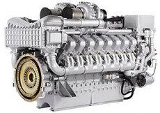 Дизельный двигатель MTU 12V4000G23R