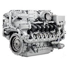 Дизельный двигатель MTU 12V4000G23F