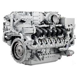 Дизельный двигатель MTU 12V4000G63F
