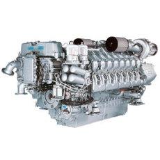 Дизельный двигатель MTU 16V4000G23F