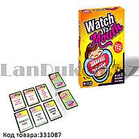 Настольная игра Скажи, если сможешь (Watch Ya Mouth) песочные часы и аксессуары карточки