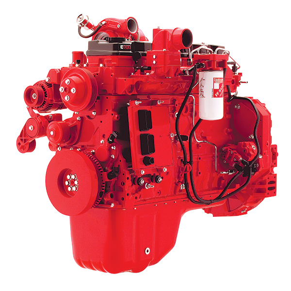 Двигатель Cummins QSB6.7-C165, QSB6.7-C204, QSB8.3-C245, 6LTAA8.9-C220, 6LTAA8.9-C240, 6LTAA8.9-C260